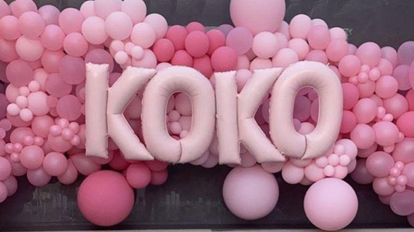 Khloé Kardashians Geburtstagsdekoration