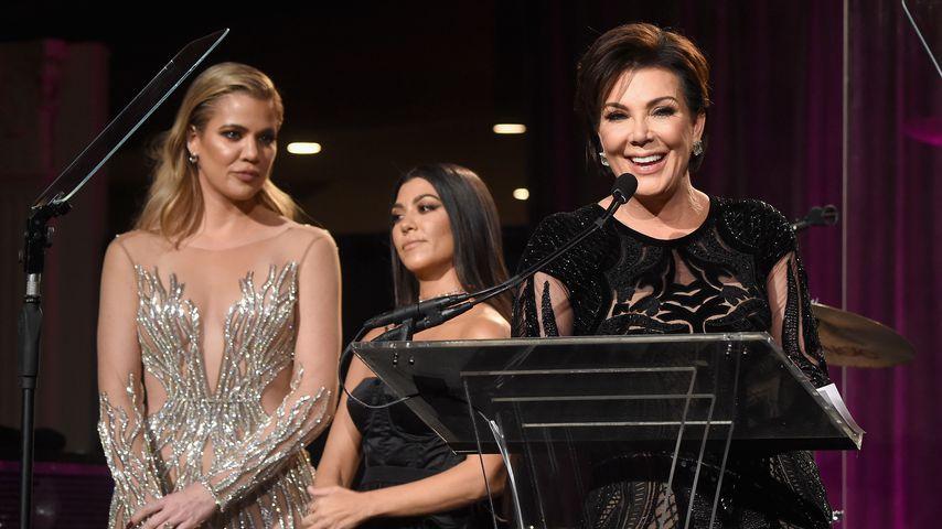 Khloe Kardashian, Kourtney Kardashian und Kris Jenner