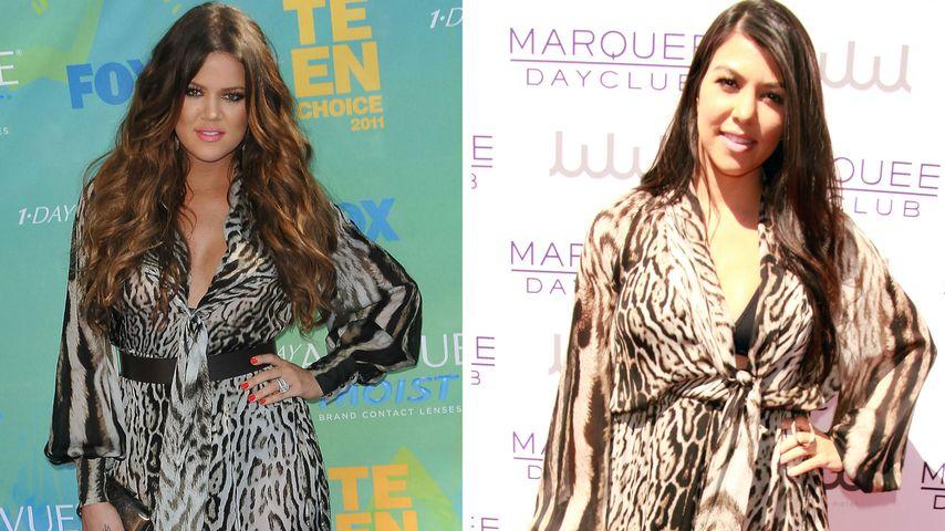 Kardashian-Kleider-Battle: Wem steht es besser?