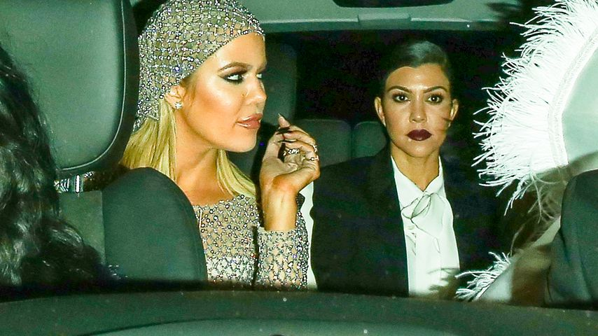 Khloe Kardashian und Kourtney Kardashian