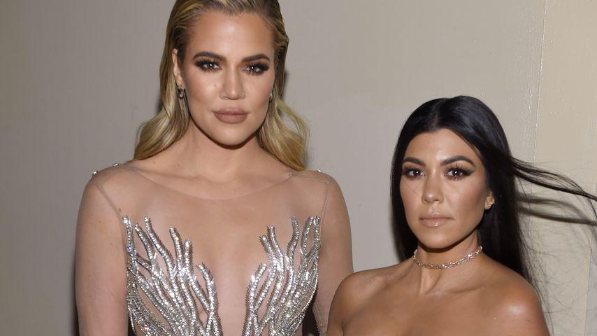 Khloe und Kourtney Kardashian