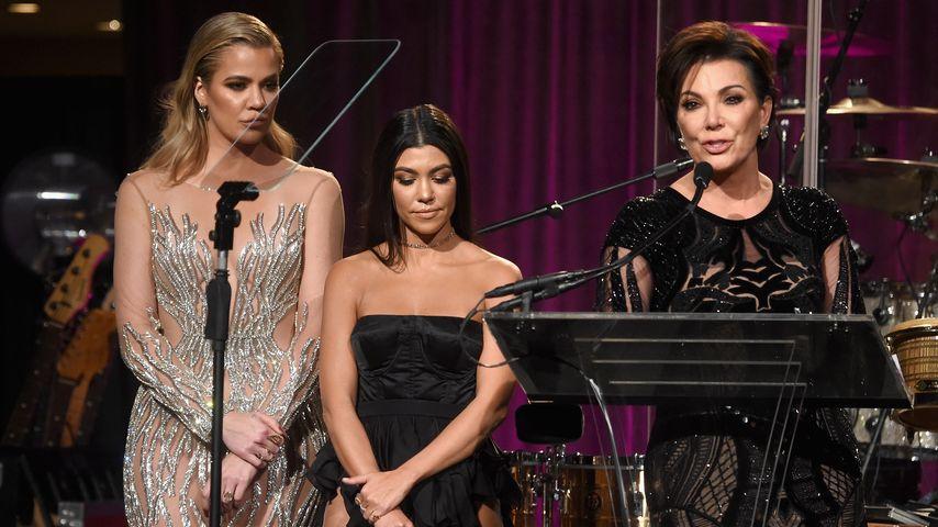"""Khloe und Kourtney Kardashian und Kris Jenner beim """"Angel Ball"""" in NYC"""