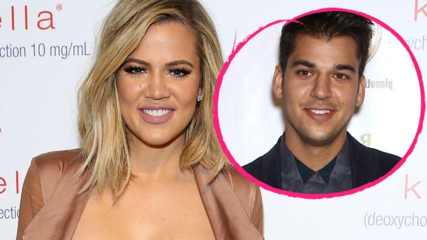 Dank Blacs Baby: Khloe & Rob Kardashian wieder vereint!