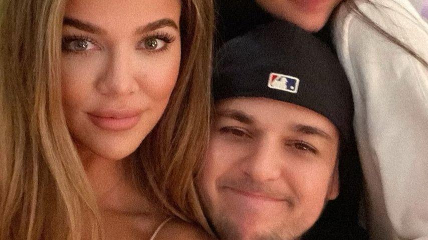 """Seelenverwandte"": Khloé Kardashian teilt Pic mit Bruder Rob"
