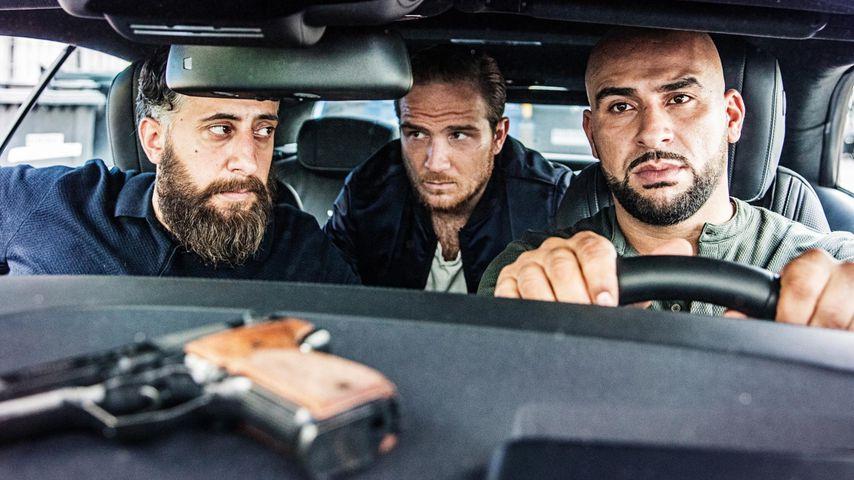 """Kida Khodr Ramadan, Frederick Lau und Veysel Gelin in """"4 Blocks"""""""