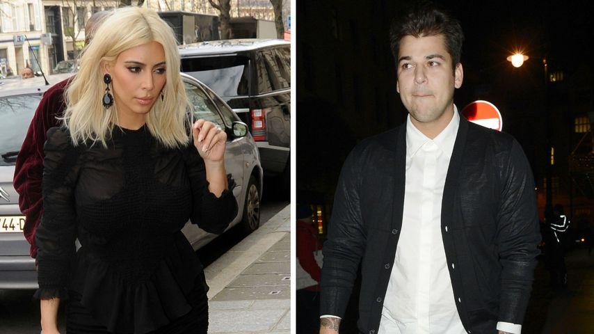 Rob Kardashian: Darum disste er Schwester Kim so fies