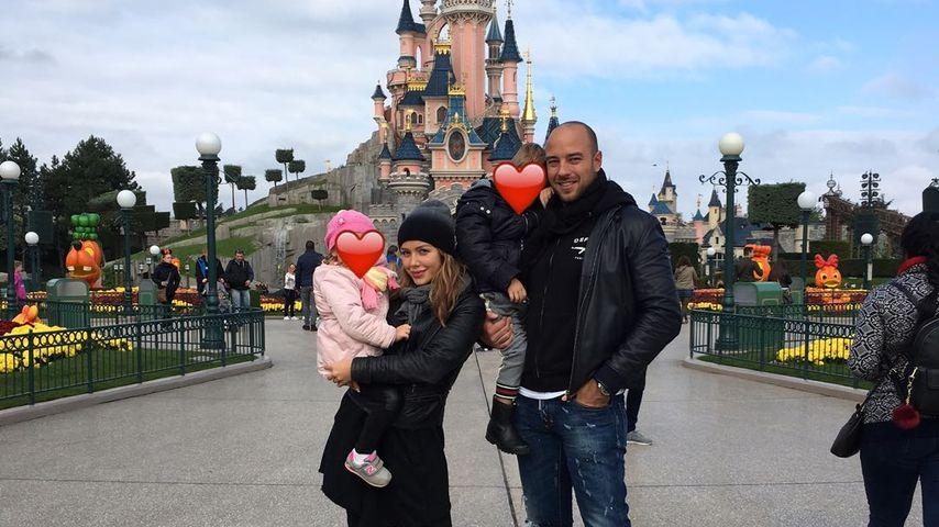 Im Patchwork-Glück: Kim Gloss mit Alex & Kids im Disneyland