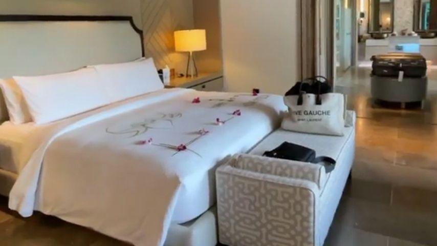 Kim Gloss dan Alexander Beliaikin tinggal di Maladewa