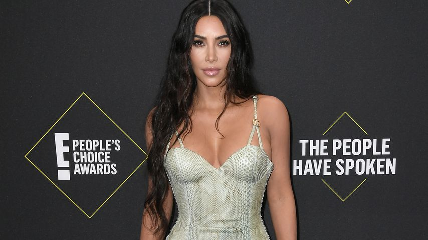 Kim Kardashian bei den E! People's Choice Awards 2019