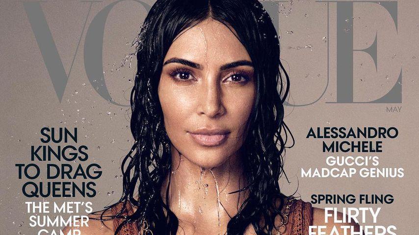 Kim Kardashian auf dem Cover der US-amerikanischen Vogue