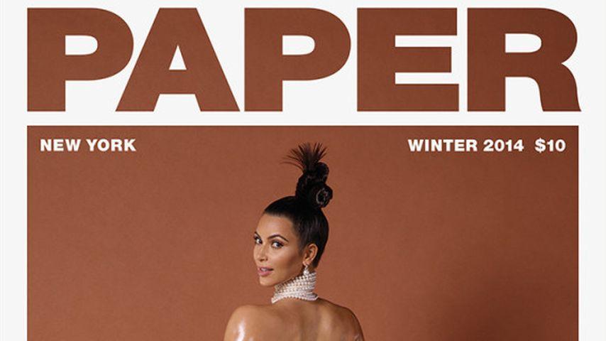 "Kim Kardashian auf dem ""Paper""-Cover 2014"