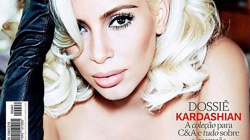 Sexy Blondine! Kim Kardashian erobert wieder das Vogue-Cover