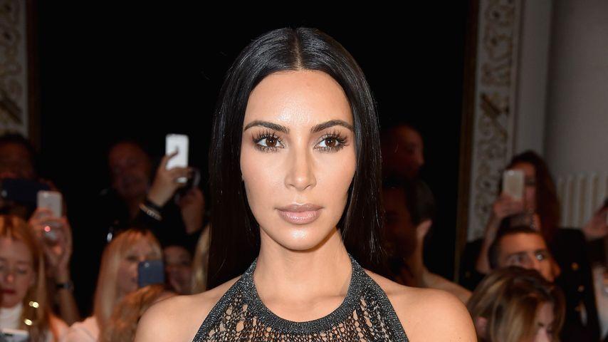 Kim Kardashian bei der Balmain-Show der Pariser-Fashion-Week 2016