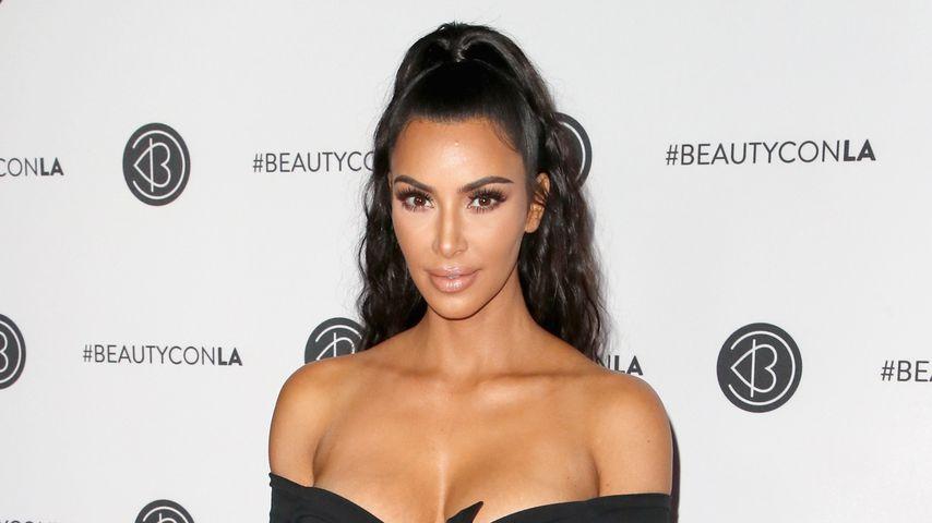 Kim Kardashian bei der Beautycon 2018 in Los Angeles