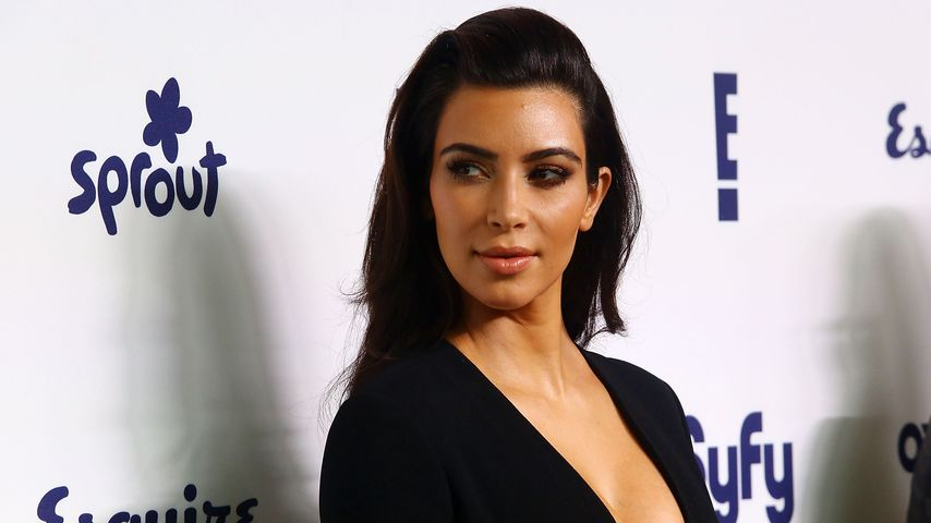 Kim Kardashian bei einem Event in New York