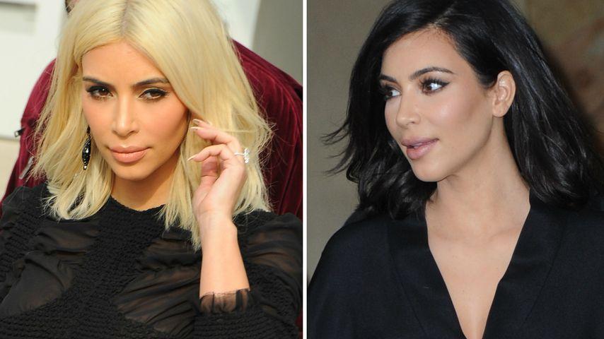 Kim Kardashian: Diese Haarfarbe steht ihr besser!
