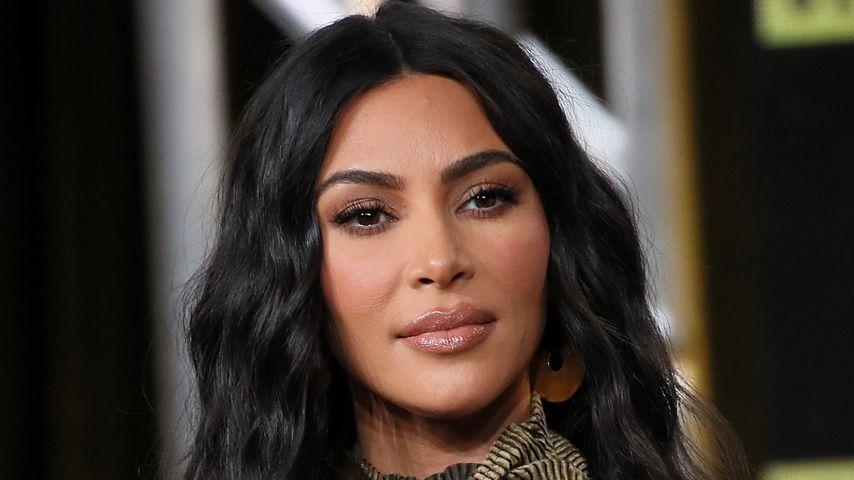 Kim Kardashian im Januar 2020 in Pasadena