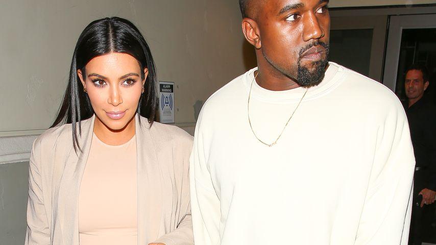 Kim Kardashian & Kanye West: Ihr Baby hat noch keinen Namen!