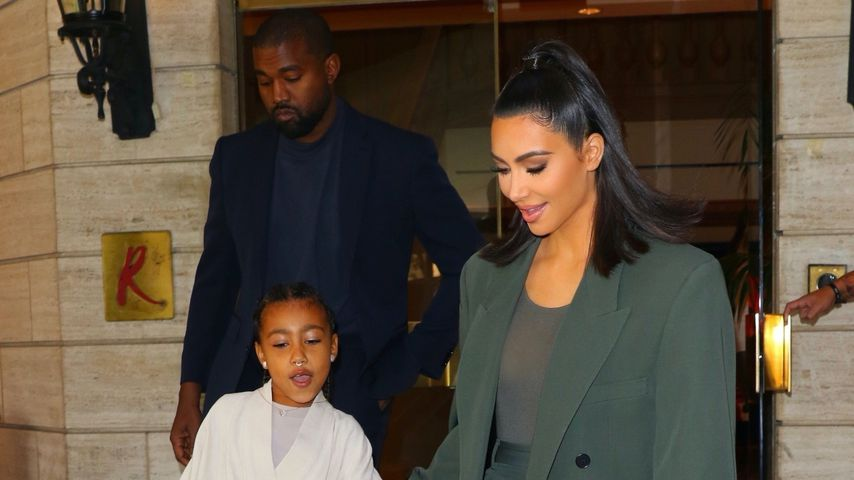 Kim Kardashian, North West, Kanye West, November 2019
