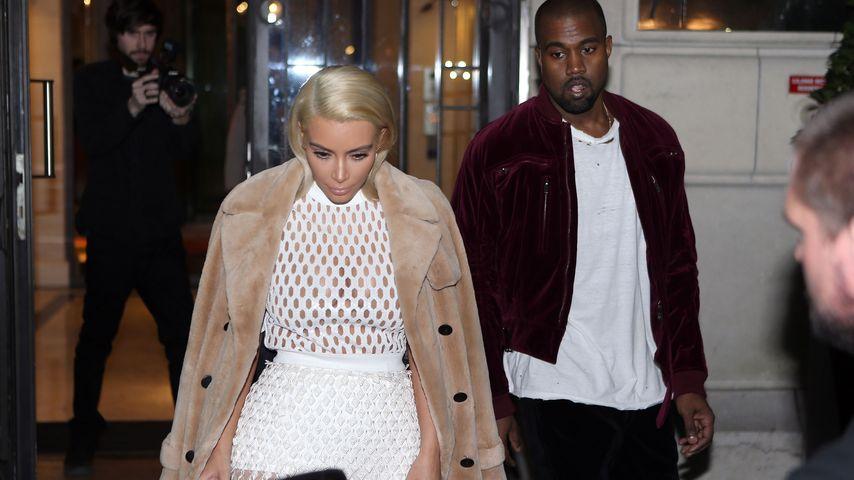 Kanye West rastet aus: Kim soll 7 Kilo abnehmen!