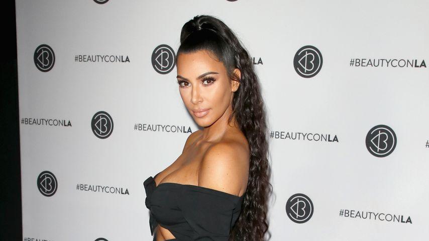 Kim Kardashian bei der Beautycon in Los Angeles, 2018