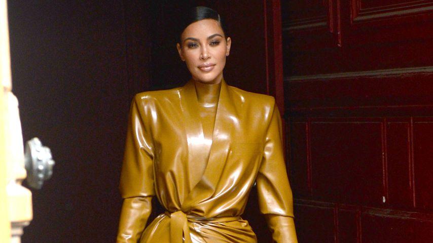 Cooler Trend? Kim Kardashian ist im totalen Latex-Fieber!