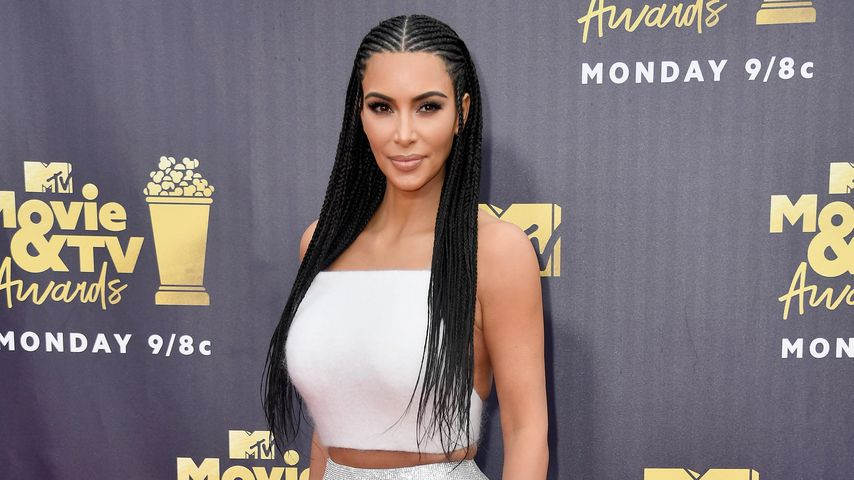 Kim Kardashian bei den MTV Movie And TV Awards 2018 in Kalifornien
