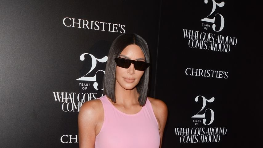 Reality-TV-Star Kim Kardashian, August 2018