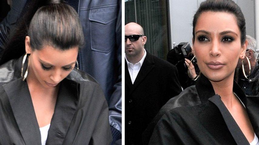 Kim Kardashian zeigt sich in Turnschuhen!
