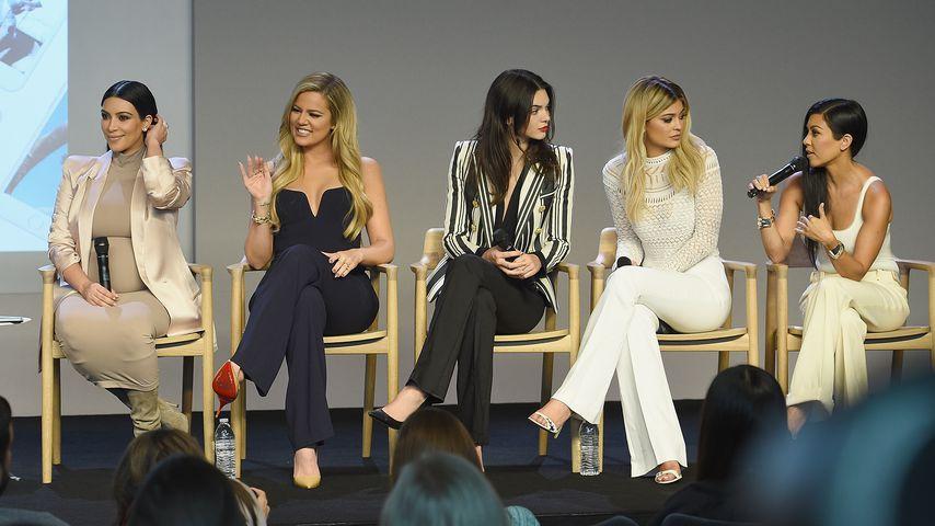 Kim Kardashian, Khloe Kardashian, Kendall Jenner, Kylie Jenner und Kourtney Kardashian