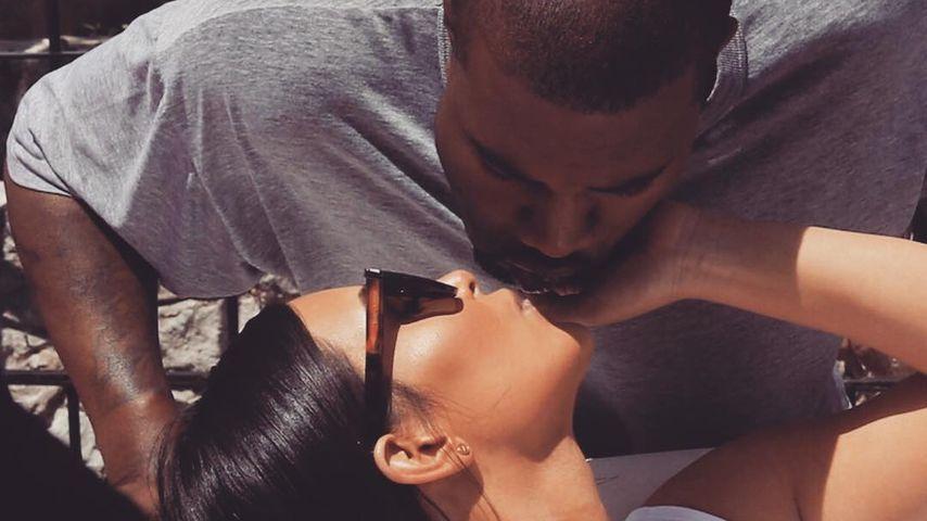 Zu Kanyes Geburtstag: Kim Kardashian postet rührende Worte