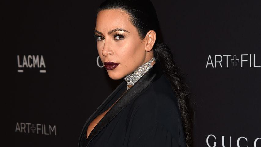 Prügelfoto-Kampagne: Kim Kardashian ist empört!