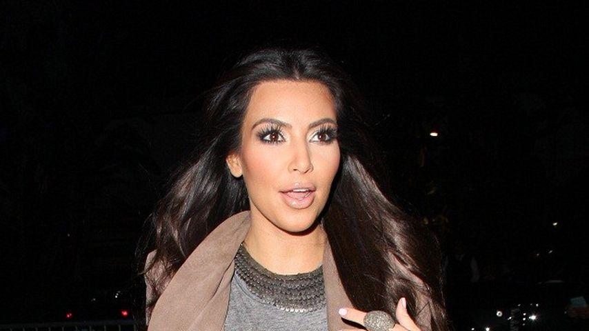 Kim Kardashian zeigt ihr großes Herz für Kinder