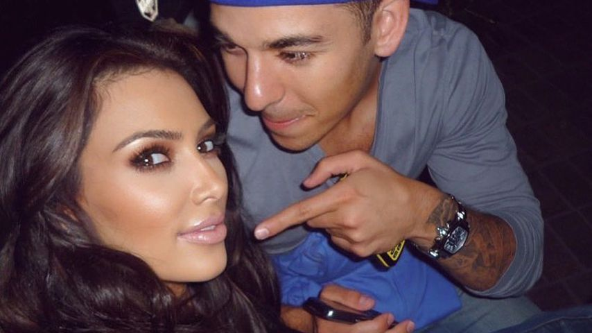 Selten: Kim Kardashian teilt Throwback-Pic mit Bruder Rob