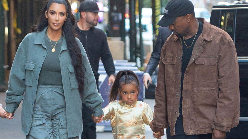 Norths (5) Haare geglättet: Shitstorm für Kim Kardashian!