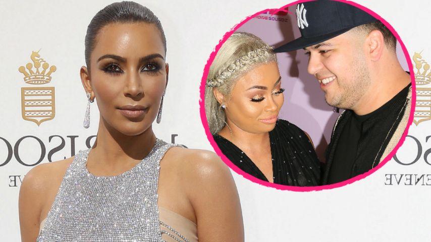 1. Reaktion! Das sagt Kim Kardashian zu Rob & Blacs Baby
