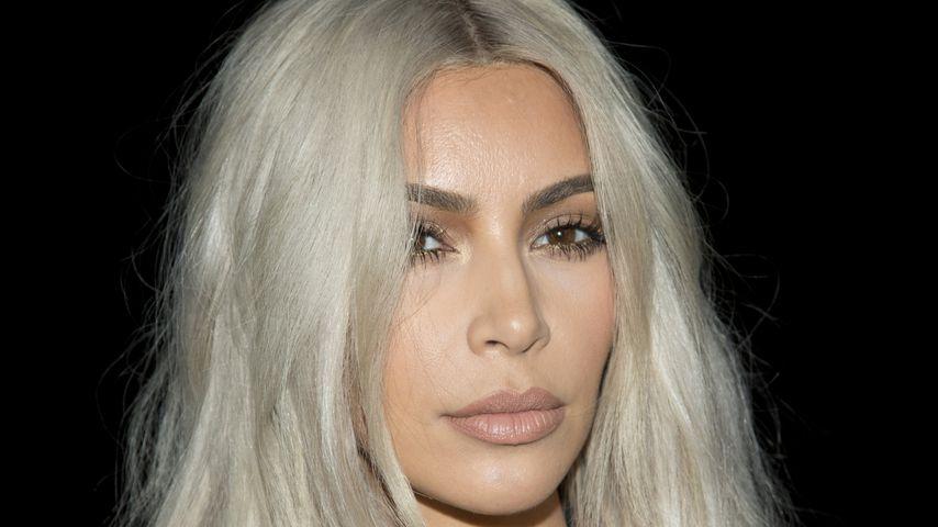 Kim Kardashian bei der NYFW