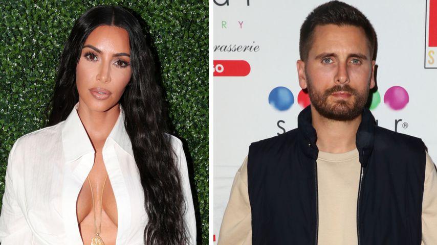 Wegen Show-Aus: Kim Kardashian sorgt sich um Scott Disick