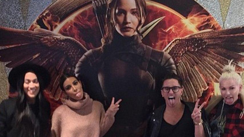 """Kim Kardashian ist ein echter """"Hunger Games""""-Fan!"""