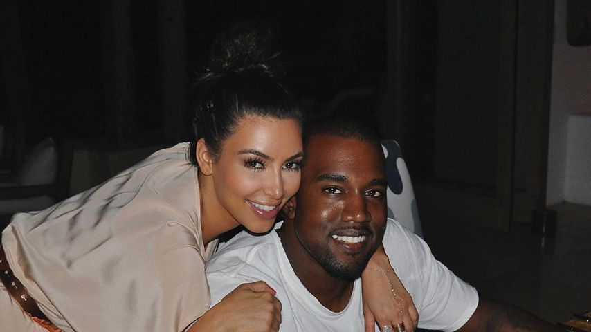 """""""Sechs Jahre geschafft"""": Kim und Kanye feiern Hochzeitstag"""