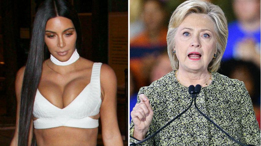 Attacke auf Kim K: Jetzt äußert sich sogar Hillary Clinton!