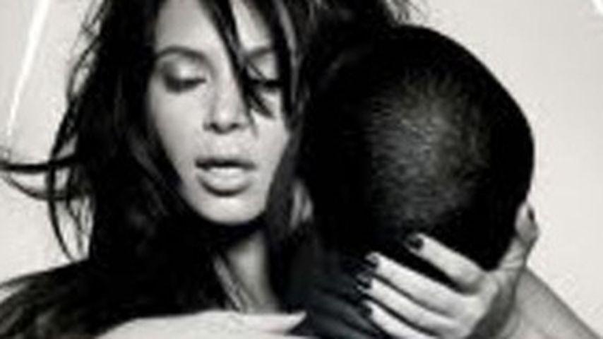 Lasziv! Kanye Wests & Kim Kardashians heißes Cover
