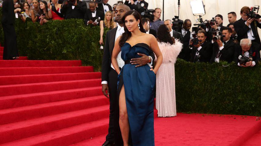 Kim Kardashian und Kanye West bei der Met Gala 2014
