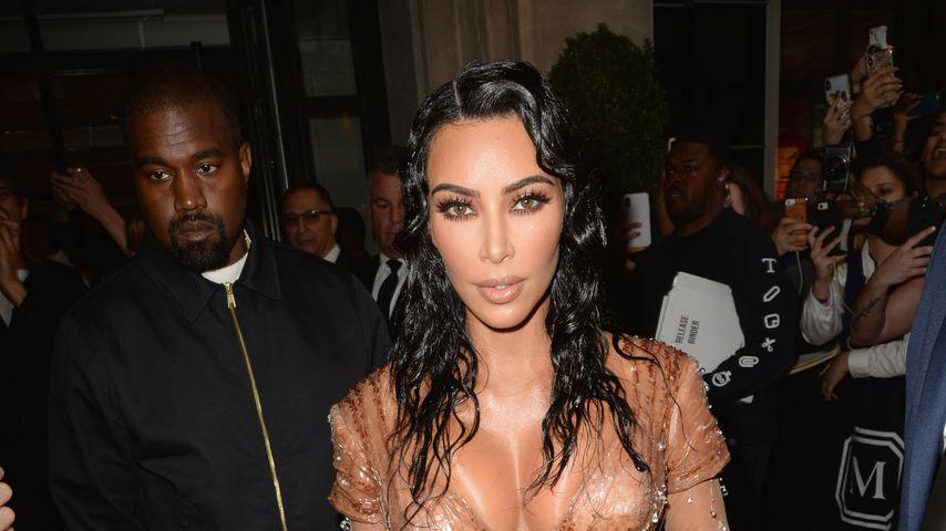 Kanye West und Kim Kardashian bei der Met Gala 2019
