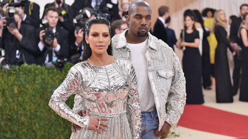 Weil sie sich dick fühlte! So heftig stritten Kim und Kanye