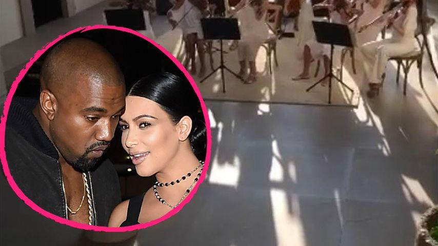 Wie romantisch! Kanye schenkt Kim ein ganzes Orchester