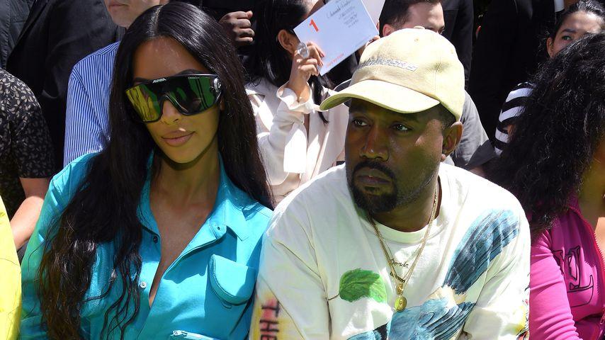 Kim Kardashian und Kanye West, 2018
