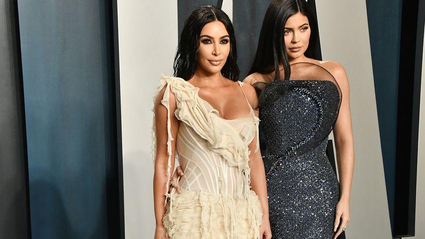 Kim Kardashian und Kylie Jenner