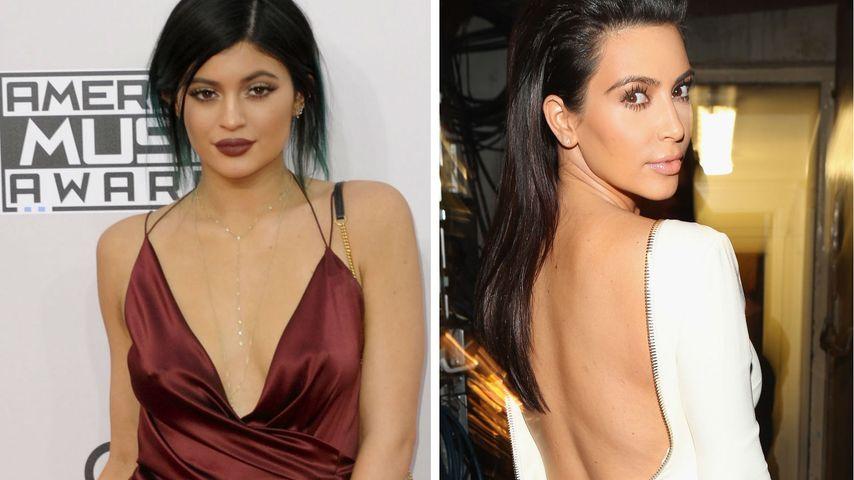 Au Backe! Kylie stürzt Kim Kardashian vom Thron!