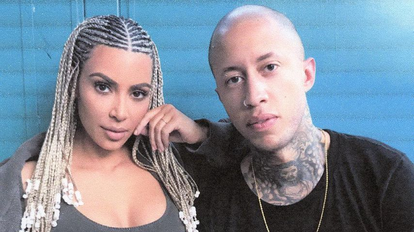 Kim Kardashian und ihr Fotograf Marcus Hyde